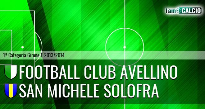Football Club Avellino - San Michele Solofra