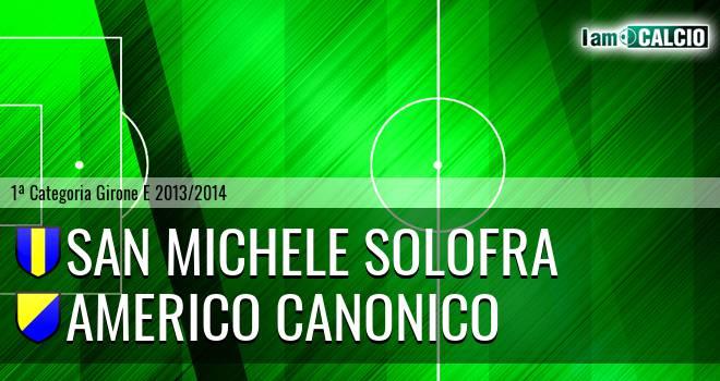 San Michele Solofra - Americo Canonico