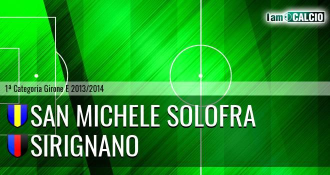 San Michele Solofra - Sirignano