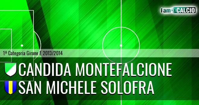 Candida Montefalcione - San Michele Solofra