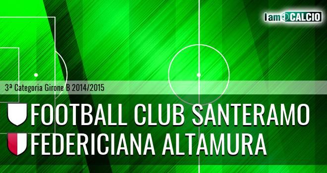 Football Club Santeramo - Federiciana Altamura