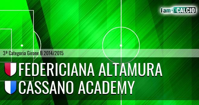 Federiciana Altamura - Cassano Academy
