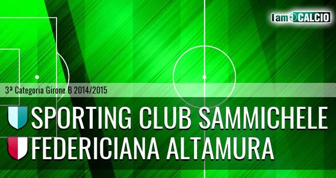 Sporting Club Sammichele - Federiciana Altamura