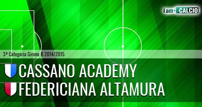 Cassano Academy - Federiciana Altamura