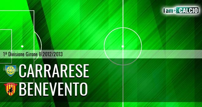 Carrarese - Benevento