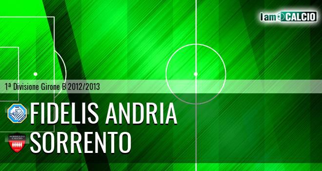 Fidelis Andria - Sorrento