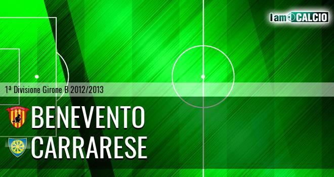 Benevento - Carrarese