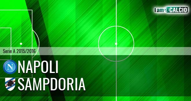 Napoli - Sampdoria 2-2. Cronaca Diretta 30/08/2015