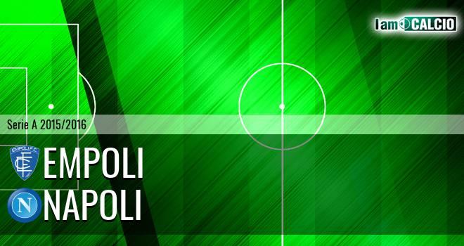 Empoli - Napoli 2-2. Cronaca Diretta 13/09/2015