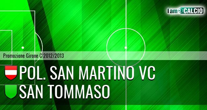 Pol. San Martino VC - San Tommaso