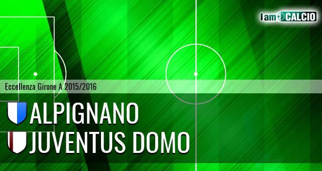 Alpignano - Juventus Domo