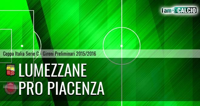 Lumezzane - Pro Piacenza