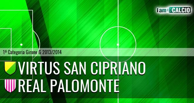 Virtus San Cipriano - Polisportiva Real Palomonte