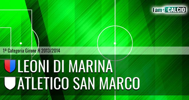 Leoni di Marina - Atletico San Marco