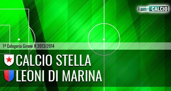Calcio Stella - Leoni di Marina