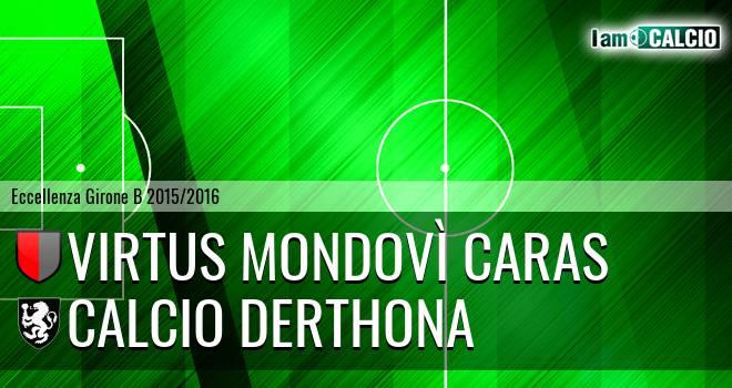 Virtus Mondovì Caras - Calcio Derthona