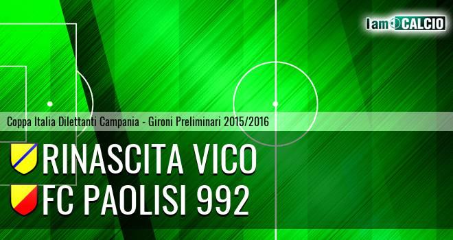 Rinascita Vico - FC Paolisi 992