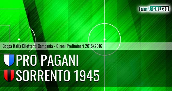 Atletico Pagani - Sorrento 1945