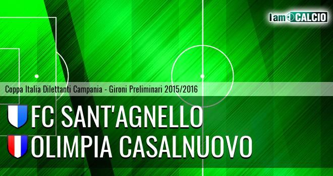 FC Sant'Agnello - Madrigal Casalnuovo