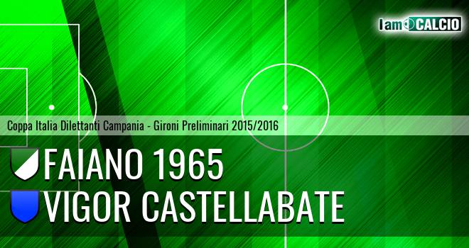 Faiano 1965 - Vigor Castellabate