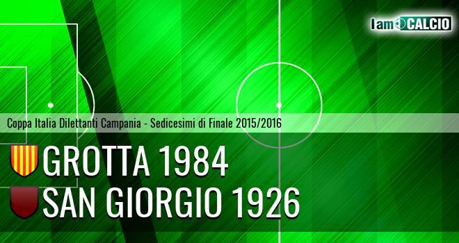Grotta 1984 - San Giorgio 1926