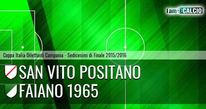 San Vito Positano - Faiano 1965