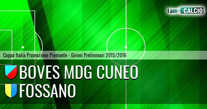 Boves MDG Cuneo - Fossano