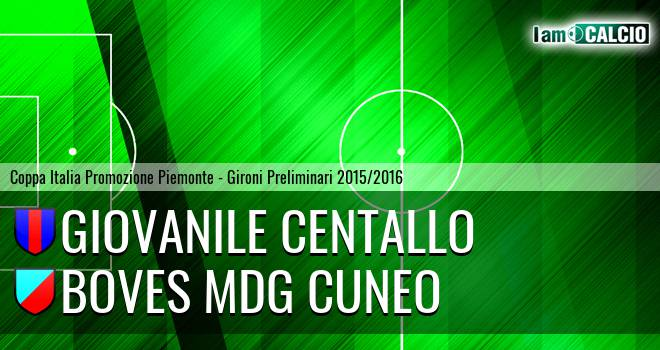 Giovanile Centallo - Boves MDG Cuneo