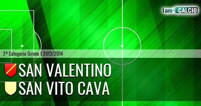 San Valentino - San Vito Cava