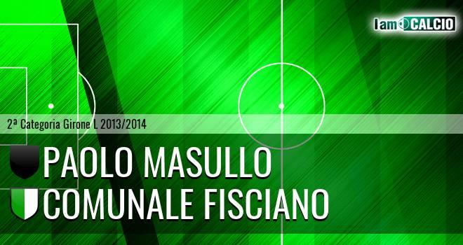 Paolo Masullo - Comunale Fisciano