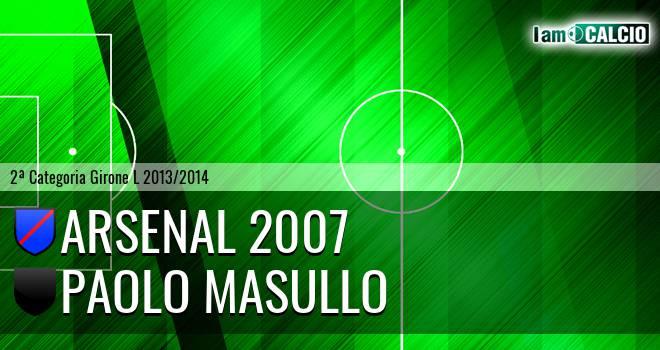 Arsenal 2007 - Paolo Masullo
