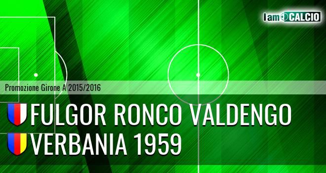 Fulgor Ronco Valdengo - Verbania 1959
