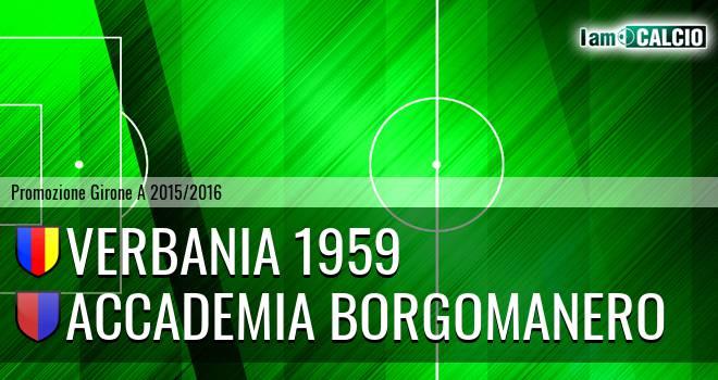 Verbania 1959 - Accademia Borgomanero