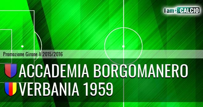 Accademia Borgomanero - Verbania 1959