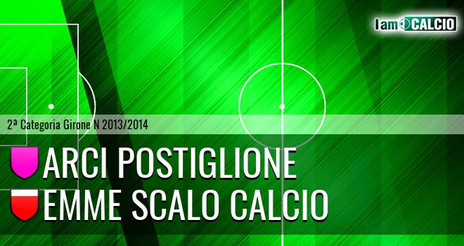 Arci Postiglione - Emme Scalo Calcio