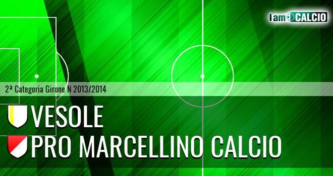 Vesole - Pro Marcellino Calcio