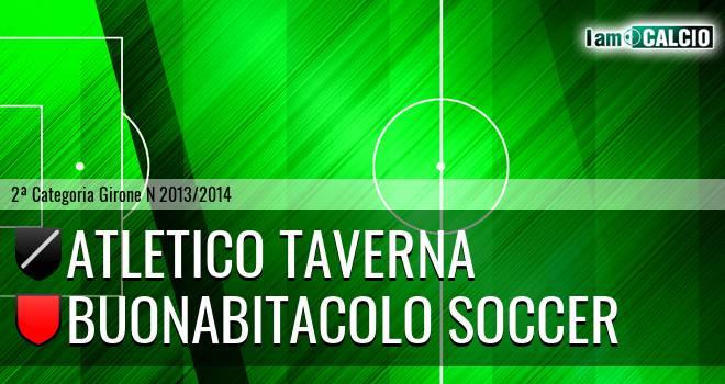 Atletico Taverna - Buonabitacolo Soccer