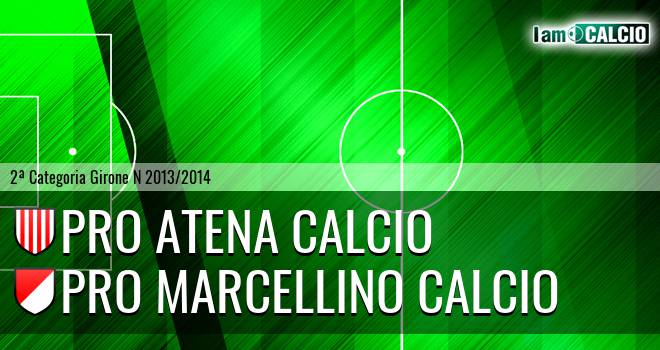 Pro Atena Calcio - Pro Marcellino Calcio