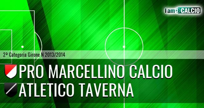 Pro Marcellino Calcio - Atletico Taverna