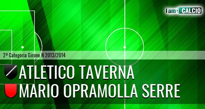 Atletico Taverna - Mario Opramolla Serre