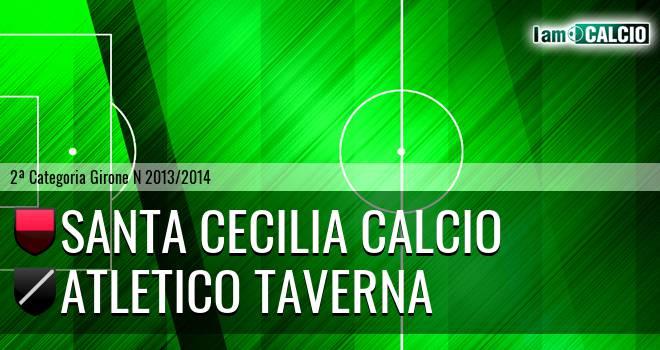Santa Cecilia Calcio - Atletico Taverna