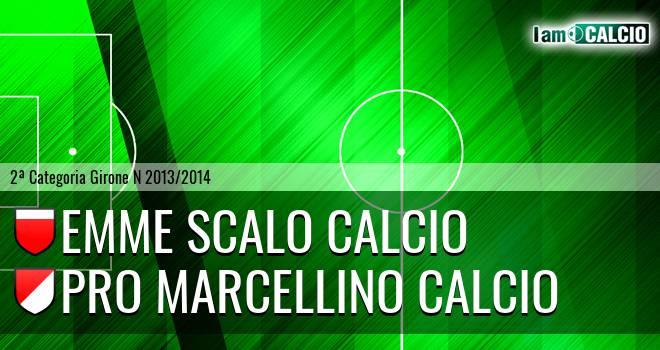 Emme Scalo Calcio - Pro Marcellino Calcio