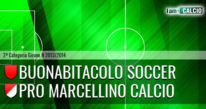 Buonabitacolo Soccer - Pro Marcellino Calcio