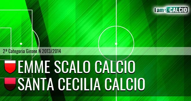 Emme Scalo Calcio - Santa Cecilia Calcio