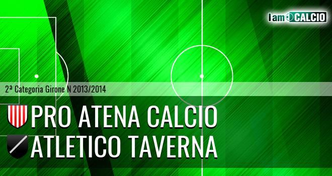 Pro Atena Calcio - Atletico Taverna