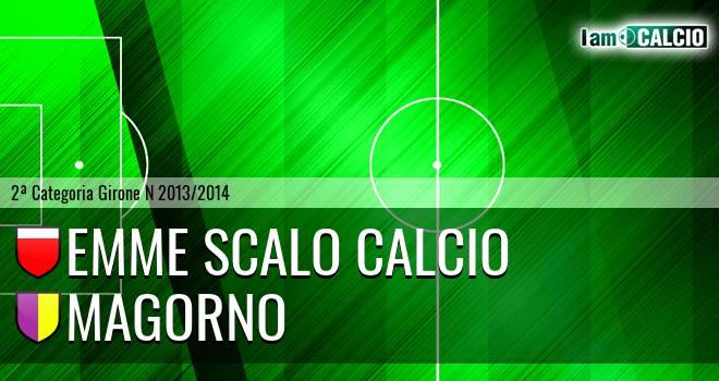 Emme Scalo Calcio - Magorno