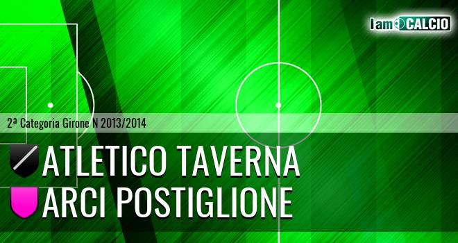 Atletico Taverna - Arci Postiglione
