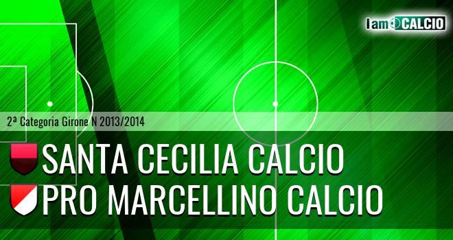 Santa Cecilia Calcio - Pro Marcellino Calcio