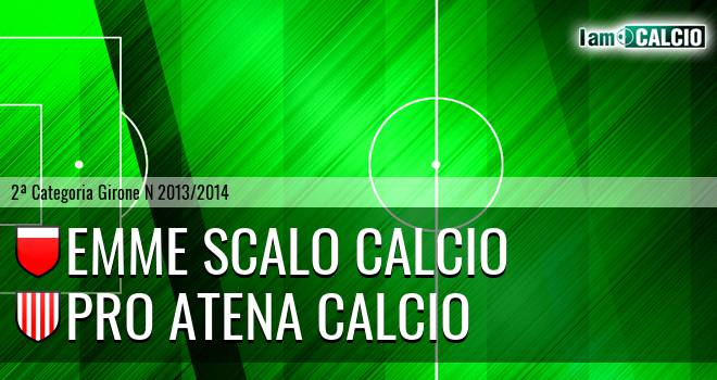 Emme Scalo Calcio - Pro Atena Calcio