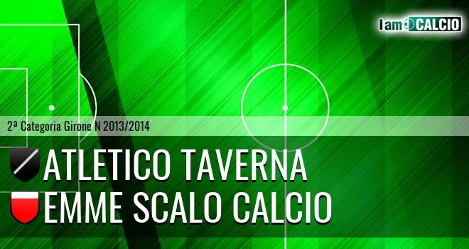 Atletico Taverna - Emme Scalo Calcio